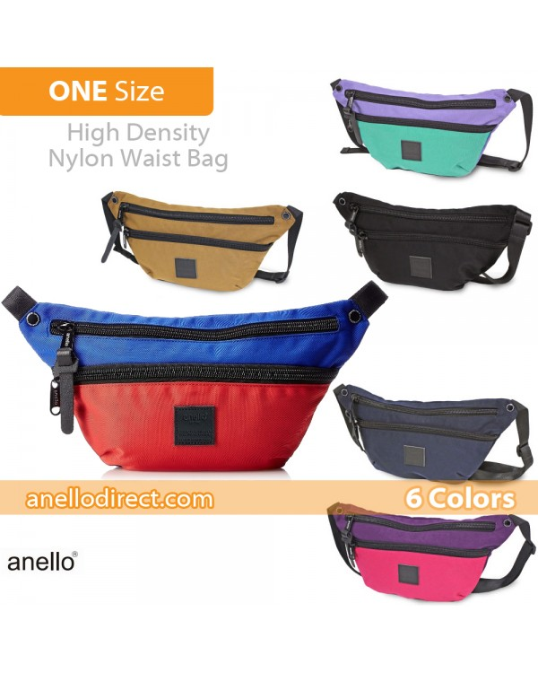 Anello High Density Nylon Shoulder Waist Bag AH-B1902