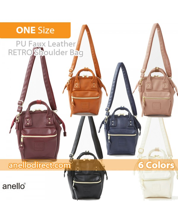 Anello RETRO PU Leather Shoulder Bag AHB3774