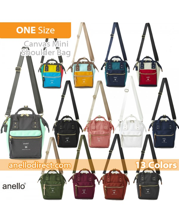Anello RE-MODEL Polyester Canvas Mini Shoulder Bag ASO-S001