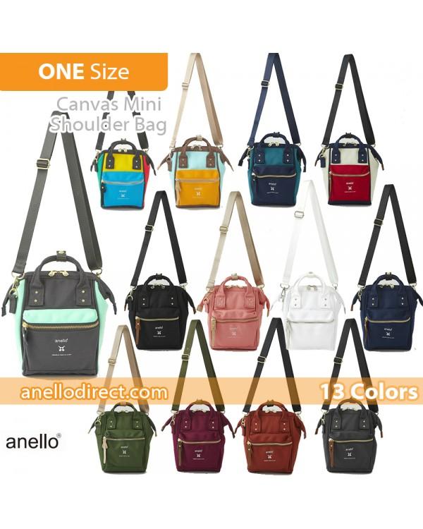 Anello RE-MODEL Polyester Canvas Mini Shoulder Bag ASO-S001