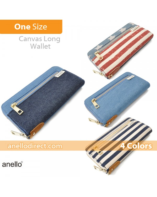 Anello Canvas Long Wallet AT-B0933