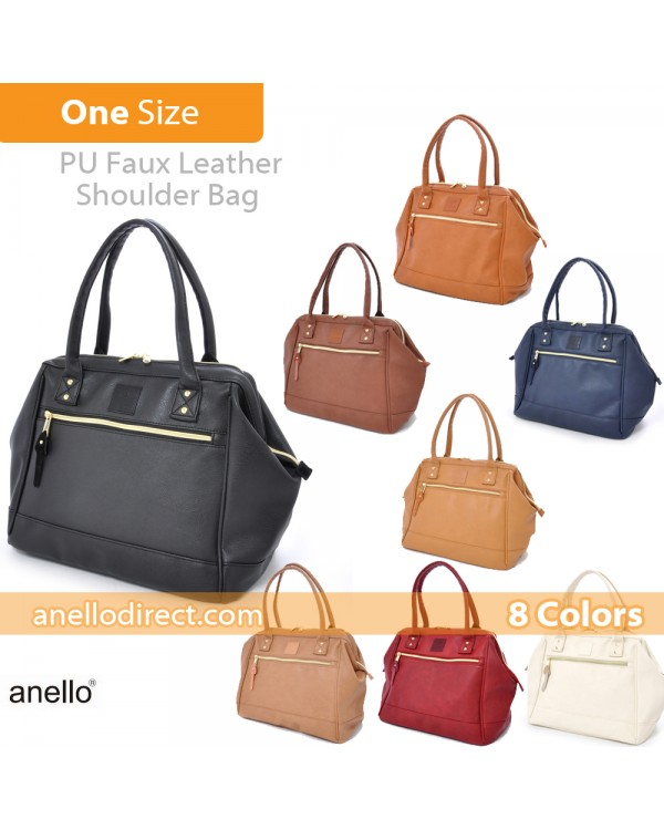 Anello Boston PU Leather Shoulder Bag Size AT-B1213