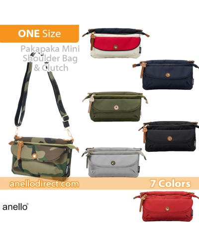 Anello Polyester Canvas Pakapaka Shoulder Bag & Clutch AT-B1223