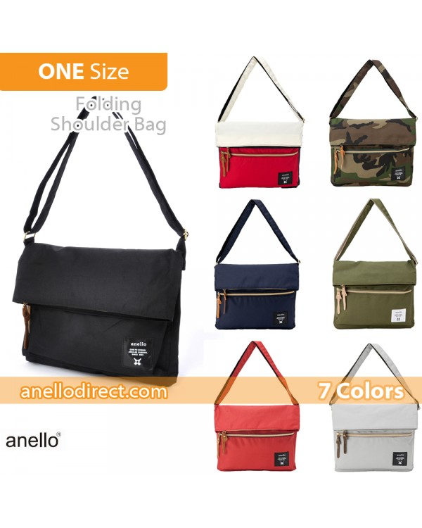 Anello Polyester Canvas Folding Shoulder Bag AT-B1227