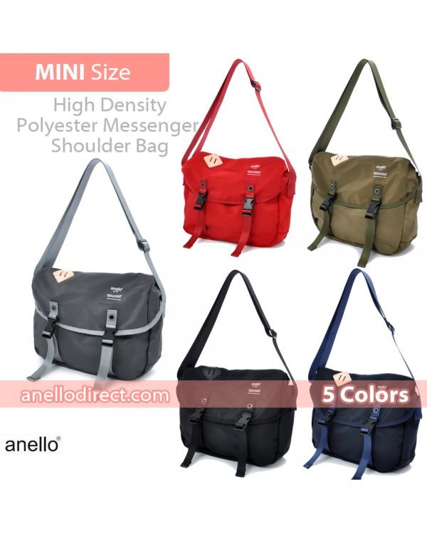 Anello High Density Polyester Messenger Shoulder Bag Mini Size AT-B1622
