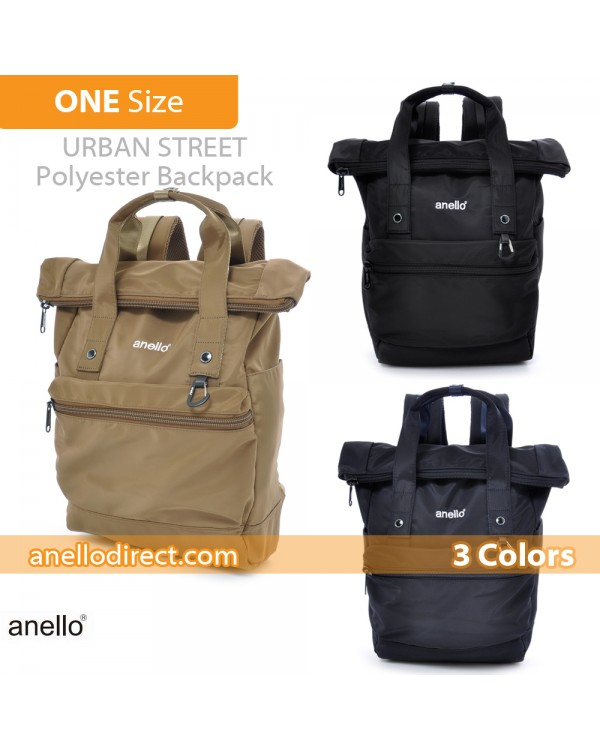 Anello Urban Street High Density Nylon Backpack Rucksack AT-B1681