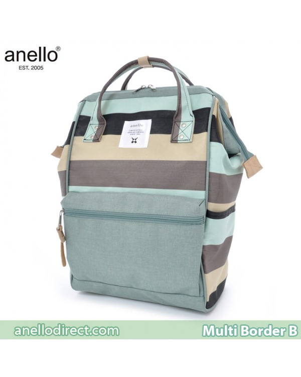 Anello Multi-Border Polyester Backpack Rucksack AT-B1941 B