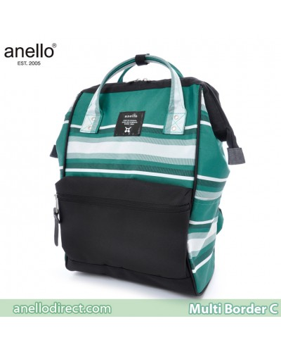 Anello Multi-Border Polyester Backpack Rucksack AT-B1941 C