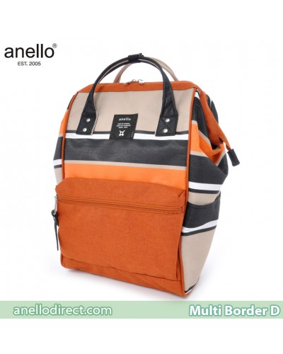 Anello Multi-Border Polyester Backpack Rucksack AT-B1941 D