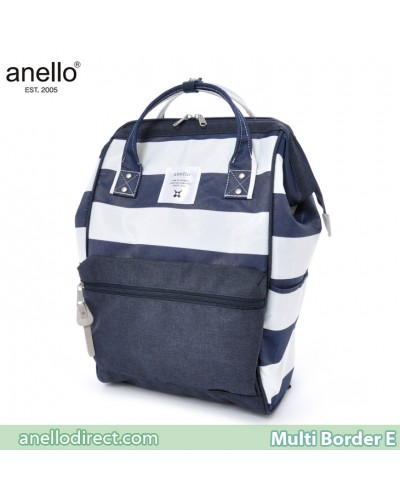 Anello Multi-Border Polyester Backpack Rucksack AT-B1941 E