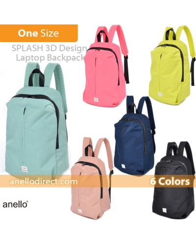 Anello Splash 3D Design Laptop Polyester Backpack Rucksack AT-B2024