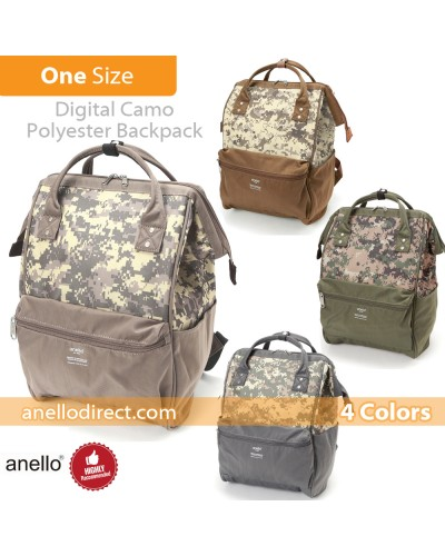 Anello Digital Camo Polyester Backpack Rucksack AT-B2241
