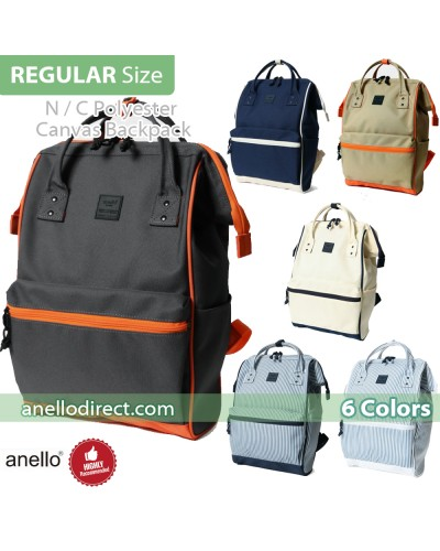 Anello N/C Polyester Classic Backpack Rucksack Regular Size AT-B3091