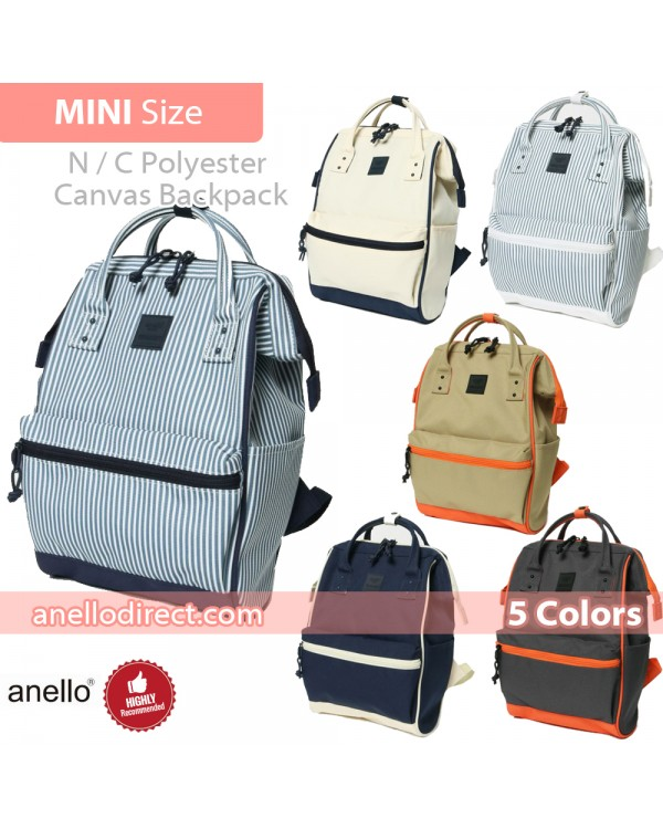 Anello N/C Polyester Classic Backpack Rucksack Mini Size AT-B3092