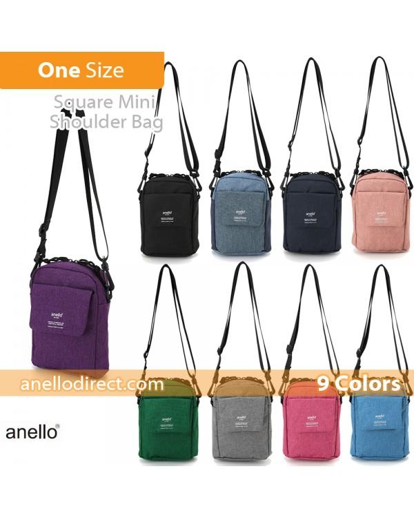Anello Square Mini Polyester Shoulder Bag AT-C1834