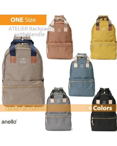 Anello ATELIER Handle Polyester Backpack Rucksack AT-C3161