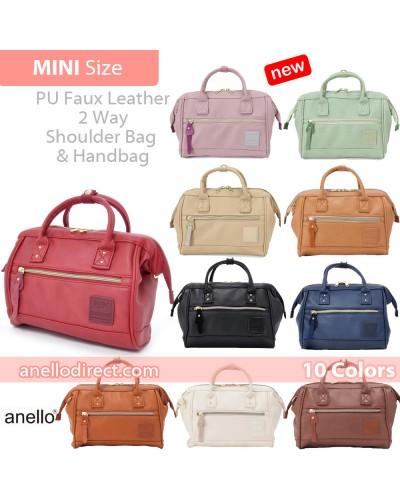 Anello PU Leather 2 Way Shoulder Bag Mini Size AT-H1021 SALE