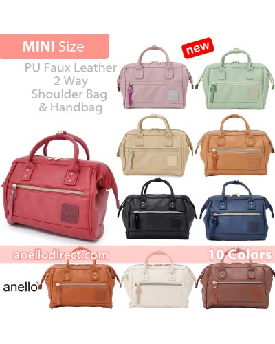 Anello PU Leather 2 Way Shoulder Bag Mini Size AT-H1021