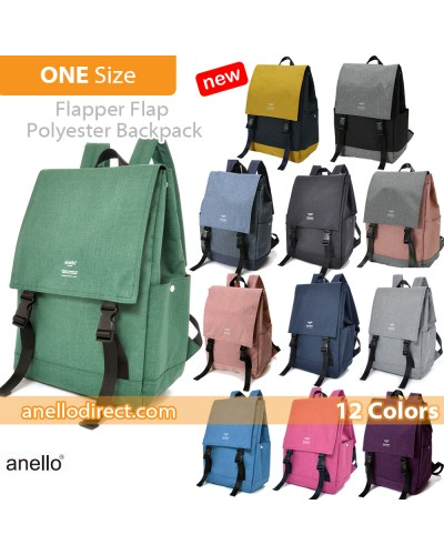 Anello Flapper Flap Polyester Backpack Rucksack AT-H1151 SALES