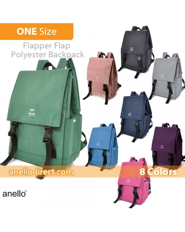 Anello Flapper Flap Polyester Backpack Rucksack AT-H1151