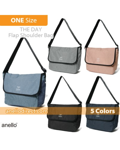 Anello THE DAY Flap Polyester Shoulder Bag AT-N0662