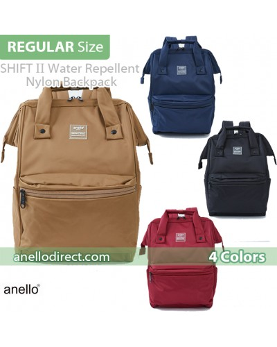 Anello SHIFTⅡ Water Repellent Nylon Backpack Regular Size ATC3473