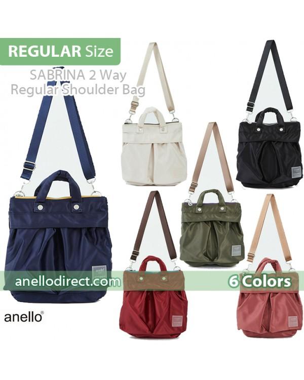 Anello SABRINA Nylon 2 Way Regular Shoulder Bag ATT0504