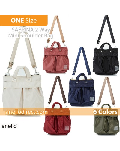 Anello SABRINA Nylon 2 Way Mini Shoulder Bag ATT0505