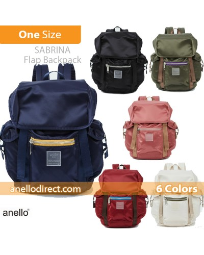 Anello SABRINA Flap Nylon Backpack Regular Size ATT0506