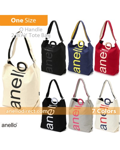 Anello O Handle 2 Way Tote Bag Handbag AU-S0061