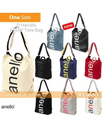 Anello O Handle 2 Way Tote Bag Handbag AU-S0061 SALES
