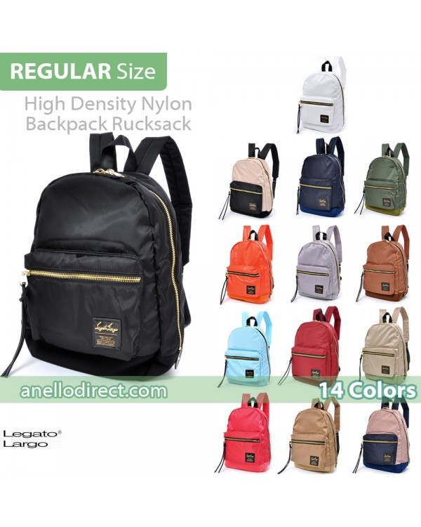 Legato Largo High Density Nylon Backpack Rucksack Regular Size LH-B1021