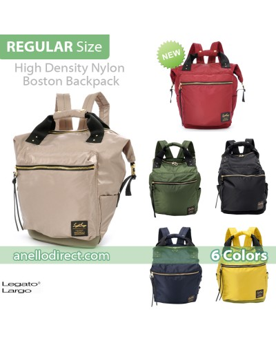 Legato Largo High Density Nylon Boston Backpack Rucksack Regular Size LH-B1028