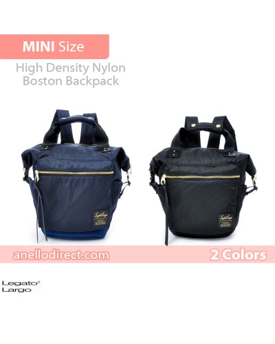 Legato Largo High Density Nylon Boston Backpack Rucksack Mini Size LH-B1444