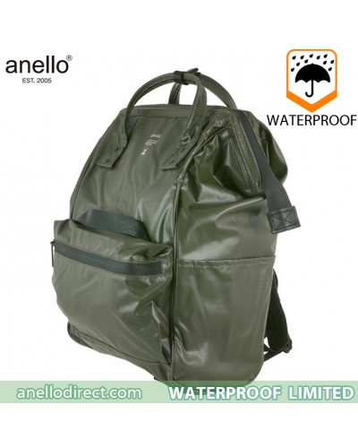 Anello Waterproof Oversea Edition Backpack Rucksack KHAKI OS-B001