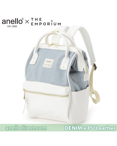 Anello X THE EMPORIUM Limited Edition Denim X PU Leather