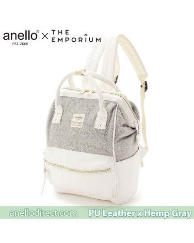 Anello X THE EMPORIUM Limited Edition PU Leather X Hemp Gray