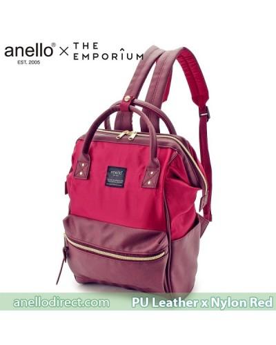 Anello X THE EMPORIUM Limited Edition PU Leather X Nylon Red