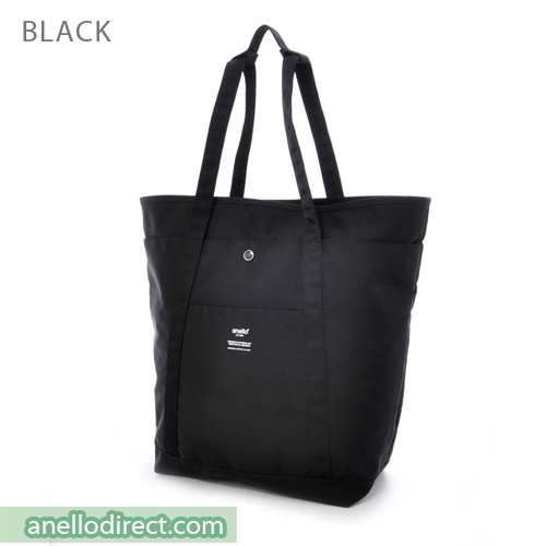 Anello Polyester 2 Way Tote Bag & Backpack Rucksack AH-B1871 Black Japan Original Official Authentic Real Genuine Bag Free Shipping Worldwide Special Discount Low Prices Great Offer