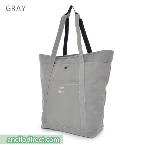 Anello Polyester 2 Way Tote Bag & Backpack Rucksack AH-B1871 Gray Japan Original Official Authentic Real Genuine Bag Free Shipping Worldwide Special Discount Low Prices Great Offer