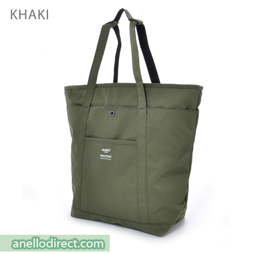Anello Polyester 2 Way Tote Bag & Backpack Rucksack AH-B1871 Khaki Japan Original Official Authentic Real Genuine Bag Free Shipping Worldwide Special Discount Low Prices Great Offer