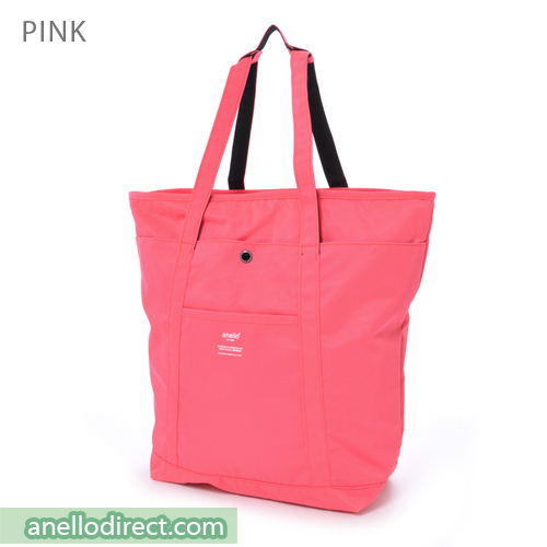 Anello Polyester 2 Way Tote Bag & Backpack Rucksack AH-B1871 Pink Japan Original Official Authentic Real Genuine Bag Free Shipping Worldwide Special Discount Low Prices Great Offer