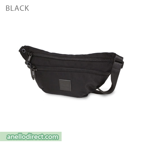 Anello High Density Nylon Shoulder Waist Bag AH-B1902 Black Japan Original Official Authentic Real Genuine Bag Free Shipping Worldwide Special Discount Low Prices Great Offer