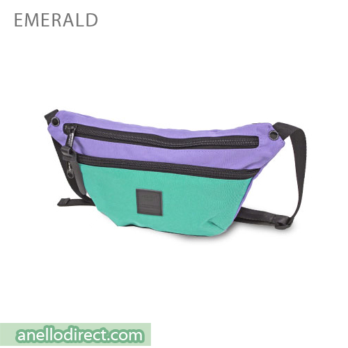Anello High Density Nylon Shoulder Waist Bag AH-B1902 Emerald Green Japan Original Official Authentic Real Genuine Bag Free Shipping Worldwide Special Discount Low Prices Great Offer