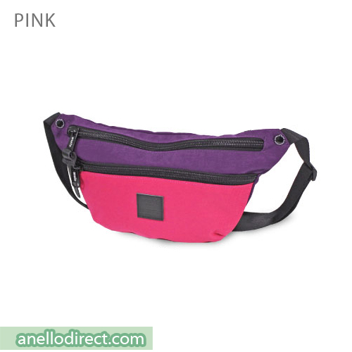 Anello High Density Nylon Shoulder Waist Bag AH-B1902 Pink Japan Original Official Authentic Real Genuine Bag Free Shipping Worldwide Special Discount Low Prices Great Offer