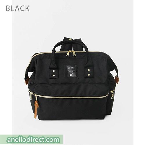 Anello KUCHIGANE Series First 3 Way Backpack Rucksack AH-C3332 Black Japan Original Official Authentic Real Genuine Bag Free Shipping Worldwide Special Discount Low Prices Great Offer