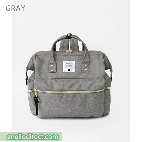 Anello KUCHIGANE Series First 3 Way Backpack Rucksack AH-C3332 Gray Japan Original Official Authentic Real Genuine Bag Free Shipping Worldwide Special Discount Low Prices Great Offer