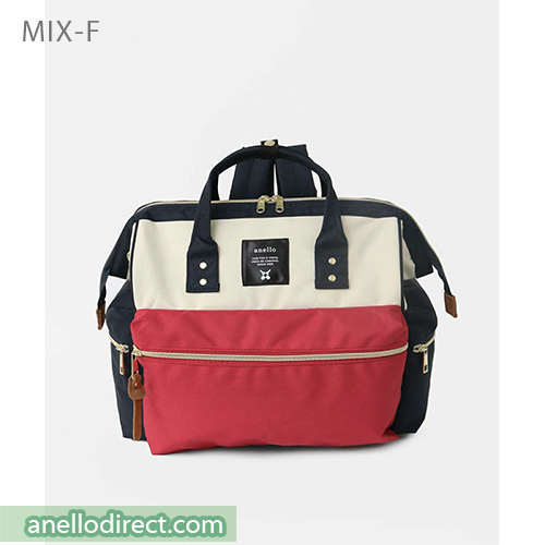 Anello KUCHIGANE Series First 3 Way Backpack Rucksack AH-C3332 Mix-F Japan Original Official Authentic Real Genuine Bag Free Shipping Worldwide Special Discount Low Prices Great Offer