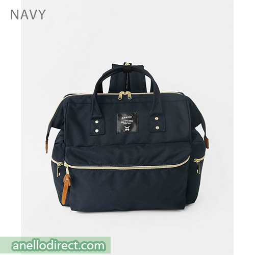 Anello KUCHIGANE Series First 3 Way Backpack Rucksack AH-C3332 Navy Japan Original Official Authentic Real Genuine Bag Free Shipping Worldwide Special Discount Low Prices Great Offer