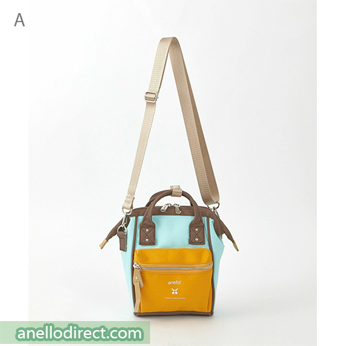 Anello RE-MODEL Polyester Canvas Mini Shoulder Bag ASO-S001 A. Japan Original Official Authentic Real Genuine Bag Free Shipping Worldwide Special Discount Low Prices Great Offer